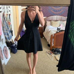 Cut Out Party Dress